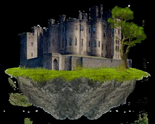 Château Gothic Barre séparation