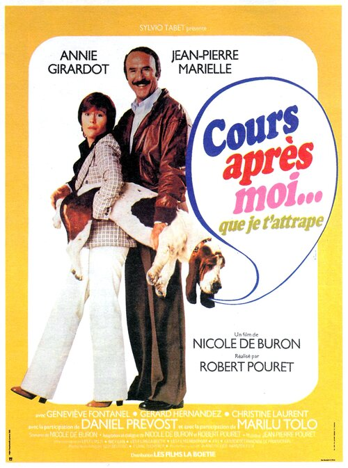 COURS APRES MOI QUE JE T'ATTRAPE - BOX OFFICE ANNIE GIRARDOT 1976