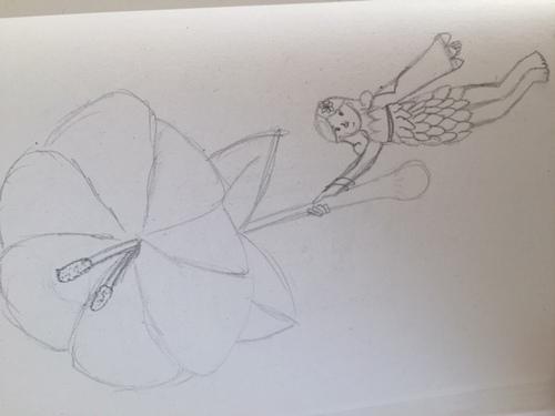 Fée de l'hibiscus