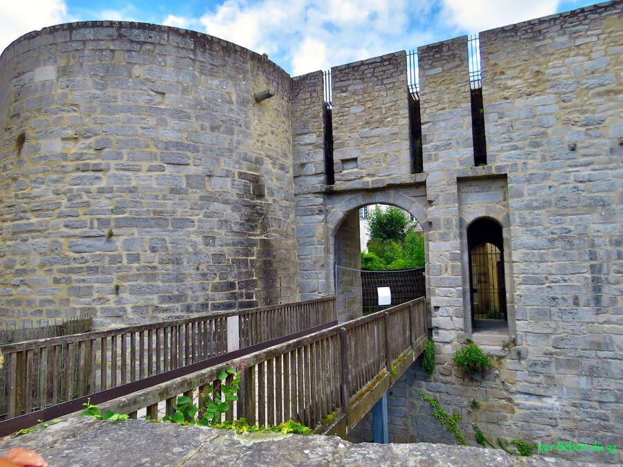 le château de l'hermine à Vannes