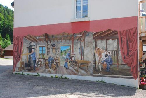 Fresque à Bois d'Amont