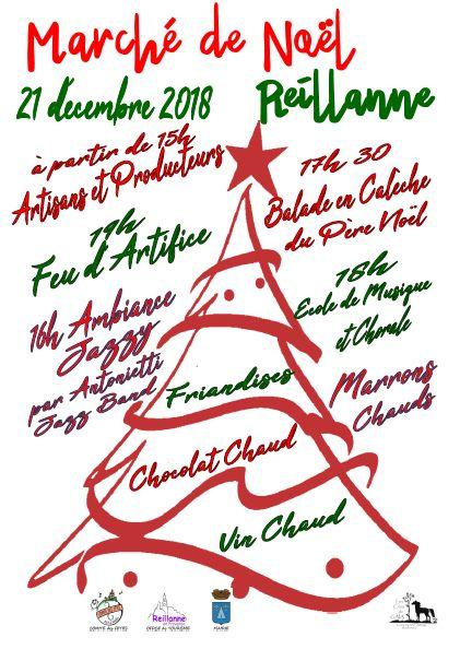 Marché de Noël de Reillanne : nous y serons !