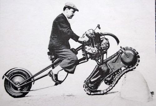 Les moto-chenilles : refusez les imitations !