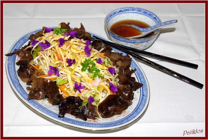 Salade de pousses de soja