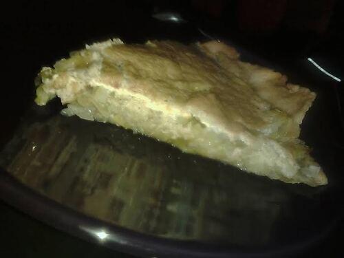 Tarte aux Poireaux {Vegan}