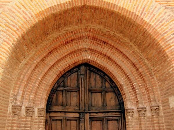 N04 - Haut de la porte d'entrée