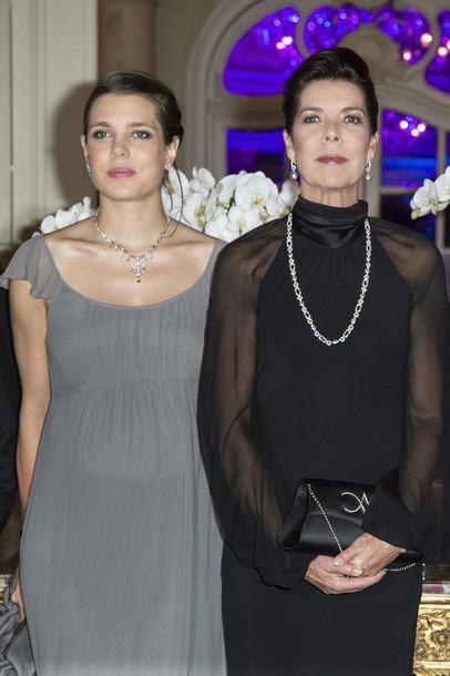 Caroline et Charlotte à la soirée de l'Amade mondiale