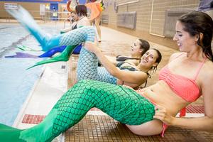 dance ballet class mermaids pool class