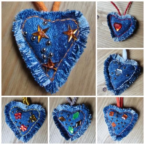 Les porte-clefs coeur