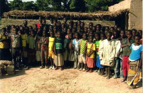 Des photos de l'école du secteur 2 de Sapouy