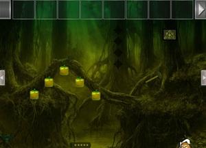 Jouer à Hooked forest escape