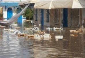 inondation à houmt souk