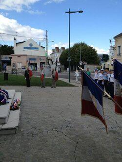 Commemoration de la libération de Mantes-la-Ville le 19 aout