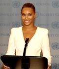 Beyonce à l'assemblée de l'onu