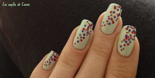 Nail Art touches de couleur