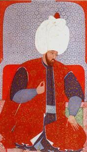 Soliman alors jeune homme, par Nakkas Osman, vers 1579.