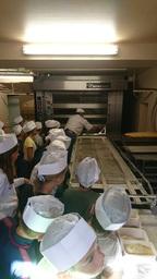 Visite en boulangerie et semaine du goût