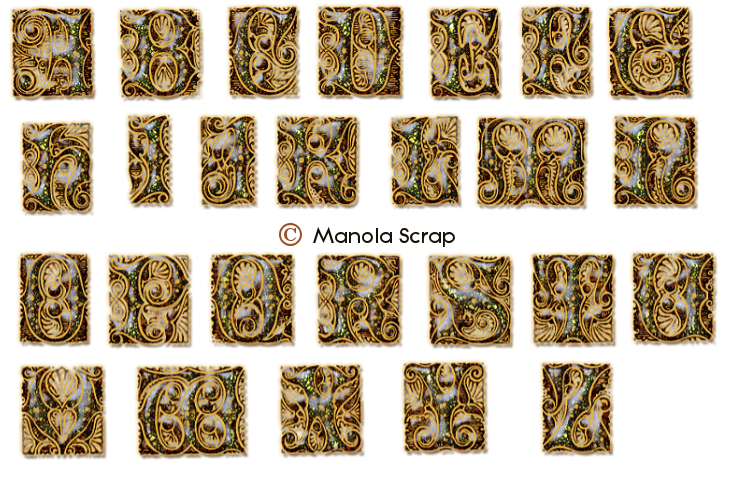 Alphabets page 1