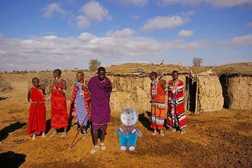 T'choupi au Kenya