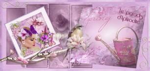 """Ma bannière Printemps sur """"Le paradis d'Aphrodite"""""""