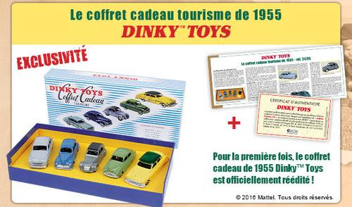 Coffret cadeau tourisme de 1955 Dinky Toys - Hors-série