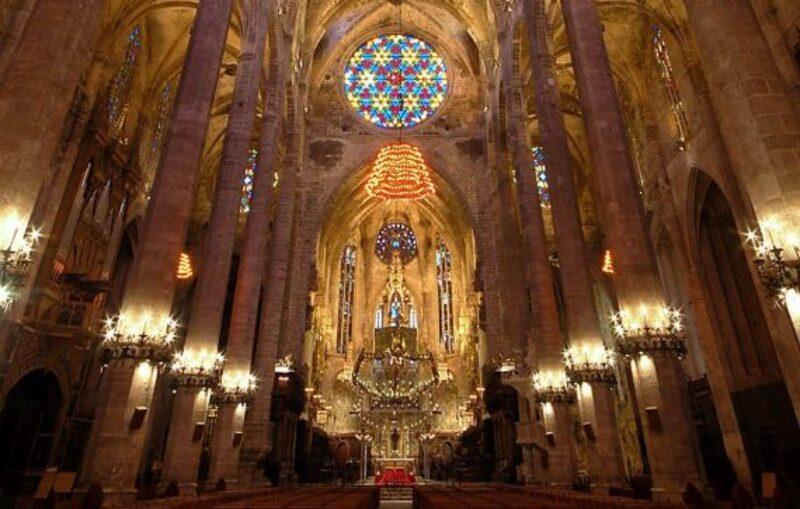la cathédrame de Palma de Majorque