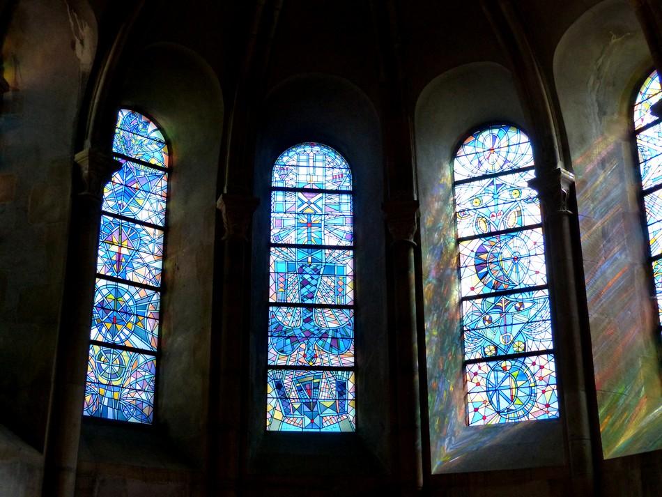Les vitraux de Jean Cocteau