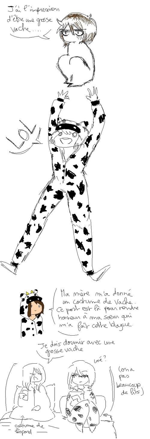 Blabla #2 Costume de vache