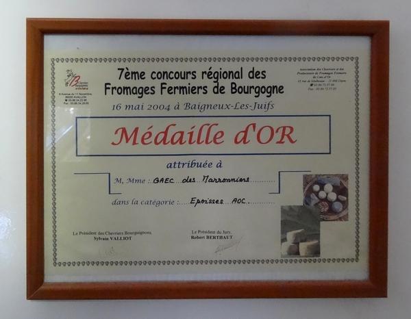 Le GAEC des Marronniers à Origny sur Seine