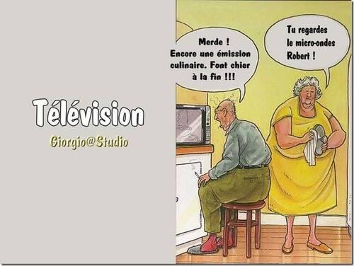 Toujours la même chose à la télé....