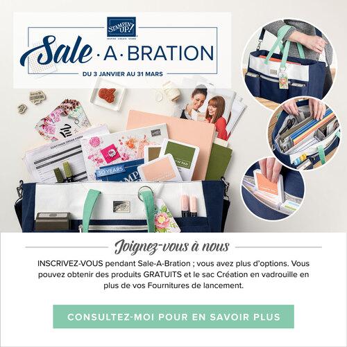 Nouveaux cadeaux Sale-A-Bration !
