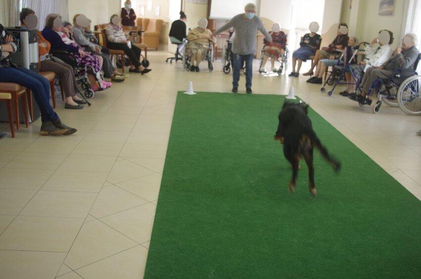 Visite à la maison de retraite de Soubise le 03 février 2017 1ère partie