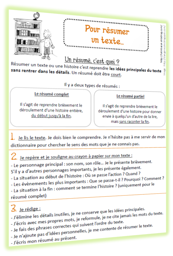 resume format  cv sous forme de journal