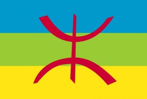 Drapeau des Amazighens