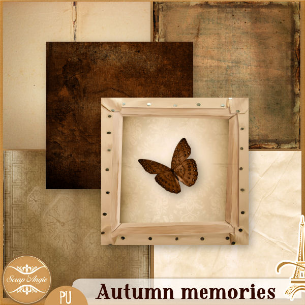 Autumn Memories by Scrap'Angie