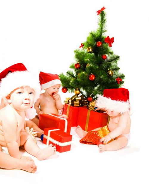 tubes christmas kids