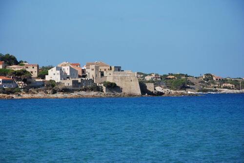 La petite citadelle d'Algajola