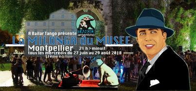 La Milonga du Musée #11 2018 - Tous les mercredis 21h-00h du 27 juin au 29 août