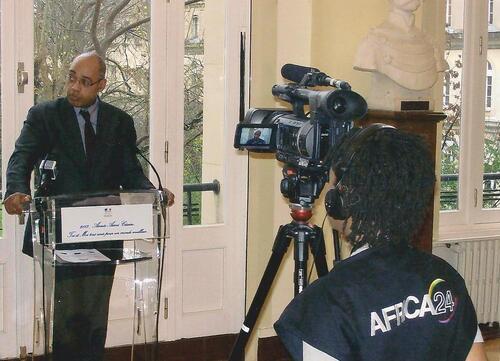 Lancement de l'année Aimé Césaire 2013 au Ministère de l'Outre-mer