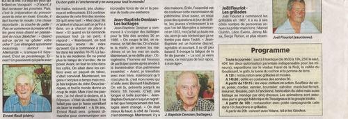 Fête des années 30 Morieux - juillet 2006