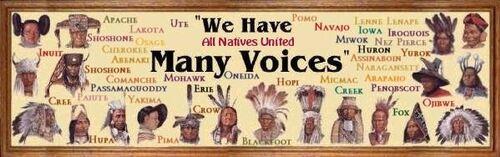 Liste des peuples indigènes des Amériques