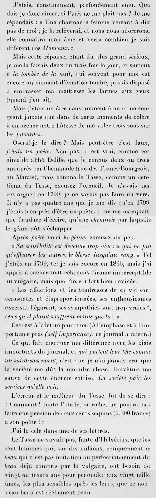 Vie de Henri Brulard