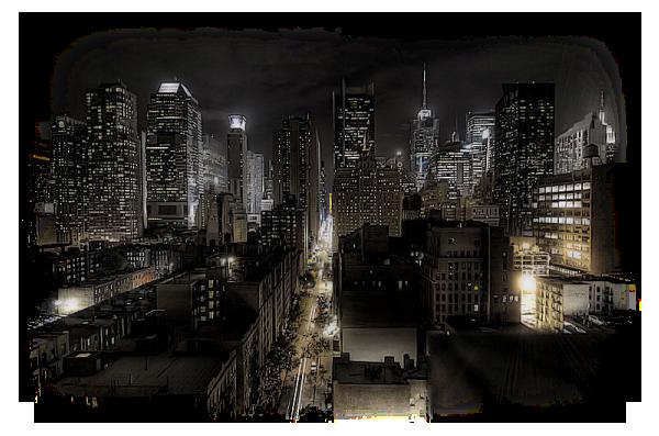 Paysage de nuit 3