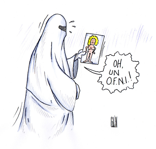 Les burqas !!!