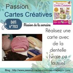 Passion cartes Créatives#703 !