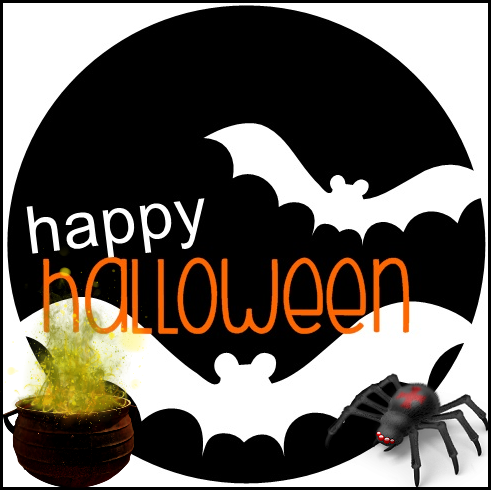 Petits Mots d'Halloween Série 4