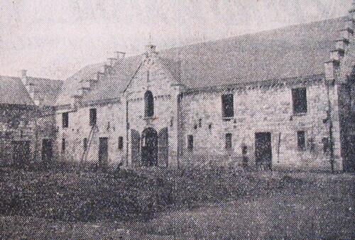 Une ferme au 18e siècle.