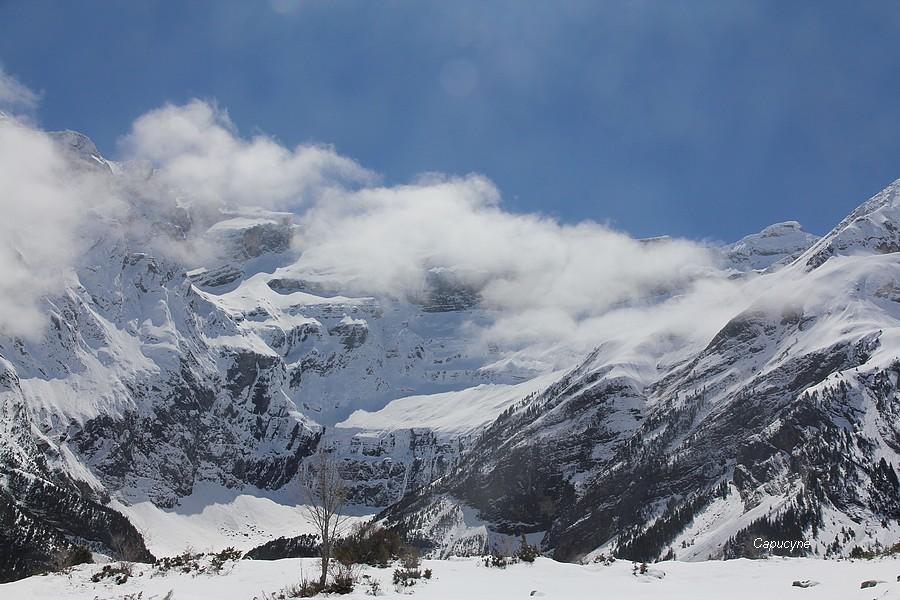 Pyrénées entre printemps et hiver - 2 - Gavarnie
