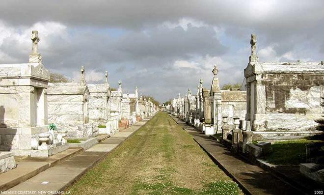 Cimetière de la guerre de Sécession. Nouvelle Orléans