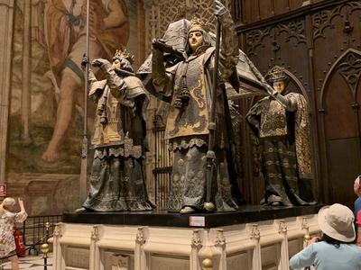 SEVILLE - tombeau de C Colomb